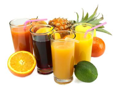 verre de jus de fruits